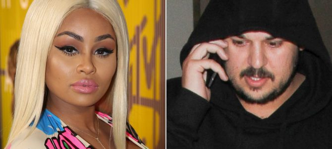 ROB KARDASHIAN Fight with Blac Chyna TRIGGERED BY COKE, BOOZE