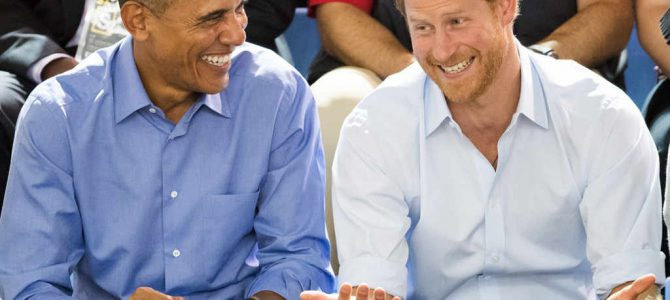 "Prince Harry Interviews Barack Obama: ""Do I Need a British Accent?"""